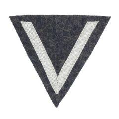 Luftwaffe Gefreiter Rank Chevron - Silver/Blue - Thumbnail