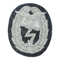 WW2 Luftwaffe Ground Assault Badge Bullion Thumbnail