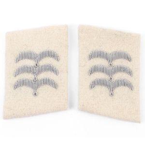 Luftwaffe HG Division Feldwebel Collar Tabs - White