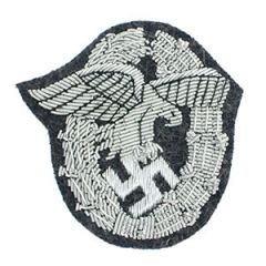 WW2 Luftwaffe Observer Badge Bullion Thumbnail