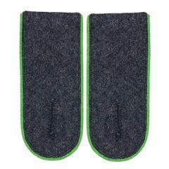 Luftwaffe EM Shoulder Boards (Green piped)