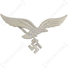 Luftwaffe Silver Cap Eagle