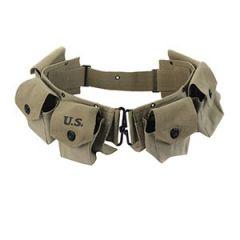 M1942 BAR Ammo Belt - Green Thumbnail