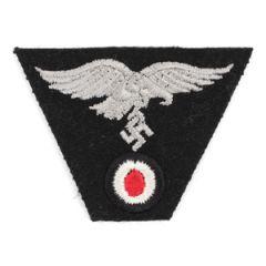 M43 Cap Eagle/Cockade Luftwaffe- Woven (Black)