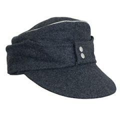 WW2 Luftwaffe M43 Officers Ski Cap Thumb