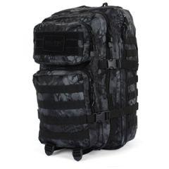 mandra night camo molle assault pack large size back