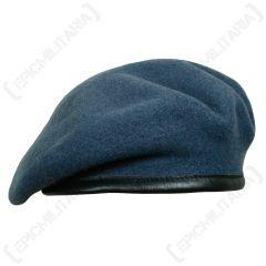 British Wool Beret - Blue RAF