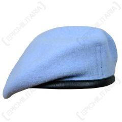 British Wool Beret - Army Air Corps Blue