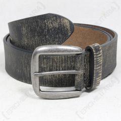 Black Leather Vintage Belt 1