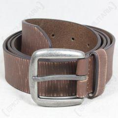 Brown Leather Vintage Belt