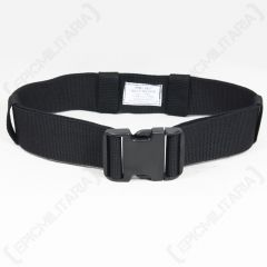 Quick Release Army Belt - Black