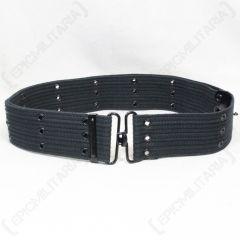 Black Pistol Belt