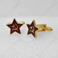 Soviet Cold War Inspired Cufflinks 1
