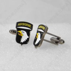 Pair of American 101st Airborne Division Cufflinks facing left