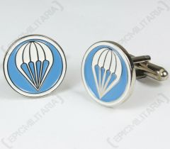 Pair of WW2 American Paratrooper Cufflinks facing left