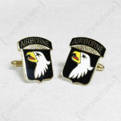 American 101st Airborne Division Cufflinks - Large Type