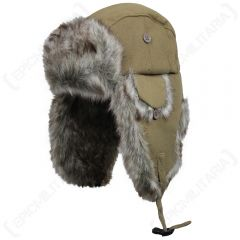 Fur and Sand Canvas Hats
