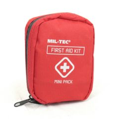 Mini First Aid Pack - Red - Thumbnail