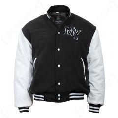 Vintage NY Baseball Jacket - Black 4