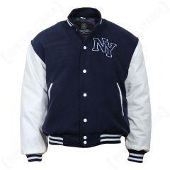 Vintage NY Baseball Jacket Navy