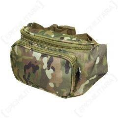 Regular Multitarn Camo Waist Pack