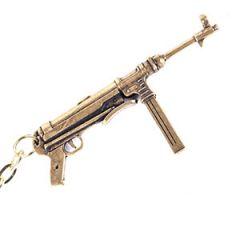 MP 40 Submachine Gun Keyring Thumbnail