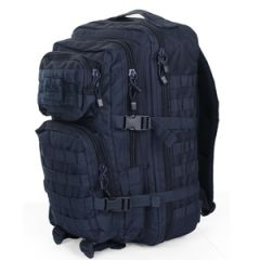 Navy Blue MOLLE Assault Pack - Large size