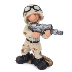 Novelty US Soldier Figurine Thumbnail