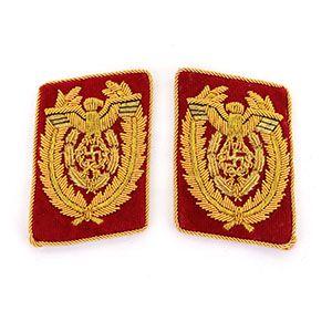 NSDAP Reichsleiter Collar Tabs