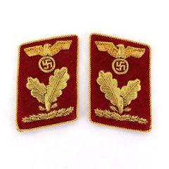 NSDAP Oberbereichsleiter Collar Tabs