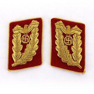 NSDAP Gauleiter Collar Tabs Post 1939