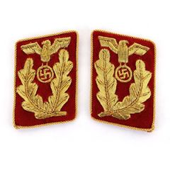NSDAP Gauleiter Collar Tabs (Imperfect)