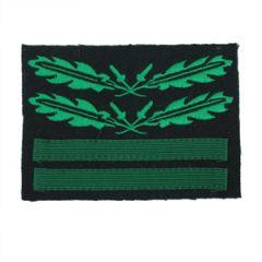 Obersturmbannfuhrer/Oberstleutnant - Camo Rank Sleeve Insignia - Thumbnail