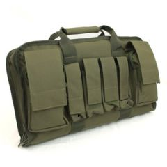 Olive Green Tactical Pistol Case - Large - Thumbnail
