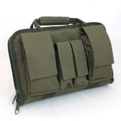 Olive Green Tactical Pistol Case - Small - Thumbnail
