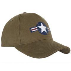 Olive Green USAF Baseball Cap