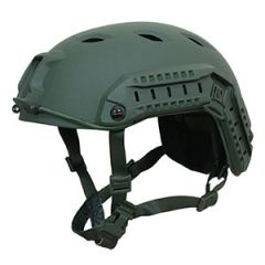 US Paratrooper Helmet with Rail Olive Thumbnail
