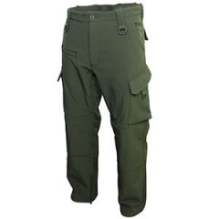 Olive Green Softshell Explorer Trousers thumbnail