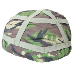 Original British DPM Camo Helmet Cover - Thumbnail