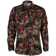 Original Swiss M83 Camo Field Jacket
