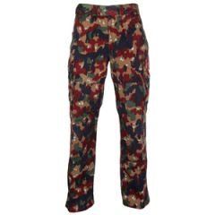 Original Swiss M83 Camo Trousers
