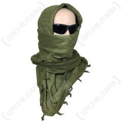 Shemagh Headscarf - Olive Green