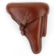 P08 Hard Shell Luger Holster - Brown