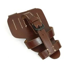 P-08 Paratrooper Brown Leather Holster thumb