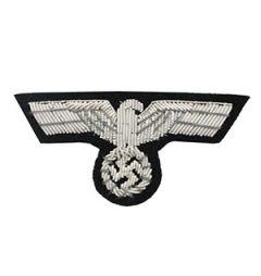 Army Panzer Officer Bullion Cap Eagle Thumbnail