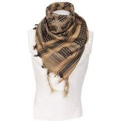 Pineapple Grenade Shemagh Headscarf - Coyote and Black