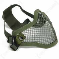 Airsoft Grid Mouthguard - Olive
