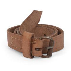 Polish Army Brown Leather Strap - 60cm