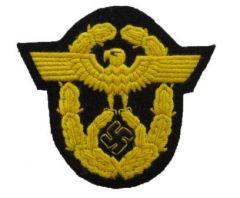 Police Sleeve Eagle - Yellow Thread