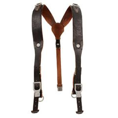 Premium Heer EM Leather Y-Straps